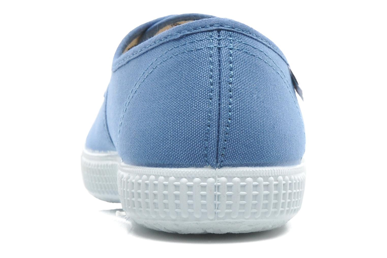 Baskets Victoria Victoria W Bleu vue droite