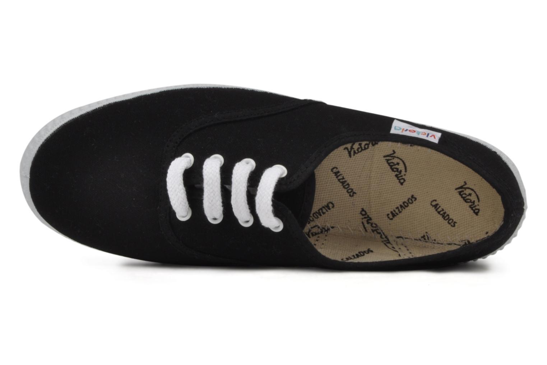 Sneaker Victoria Victoria W schwarz ansicht von links