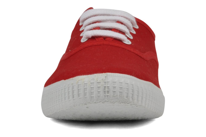 Baskets Victoria Victoria W Rouge vue portées chaussures