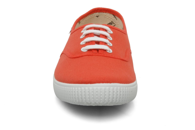 Baskets Victoria Victoria W Orange vue portées chaussures
