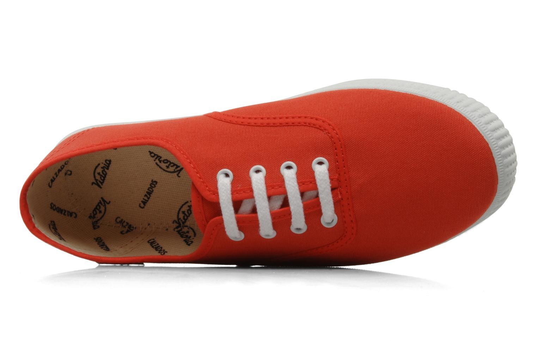 Sneaker Victoria Victoria W orange ansicht von links