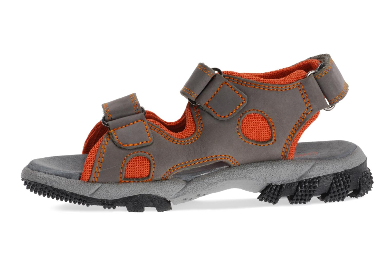 Slippers Giesswein Taucha Grey front view
