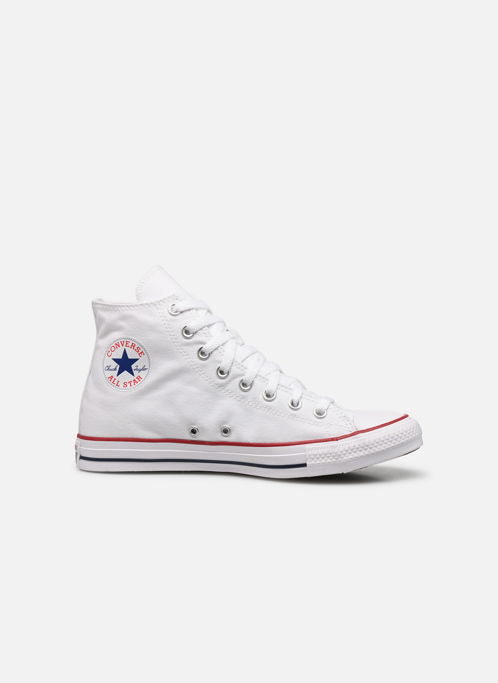 Sneakers Converse Chuck Taylor All Star Hi M Bianco immagine posteriore