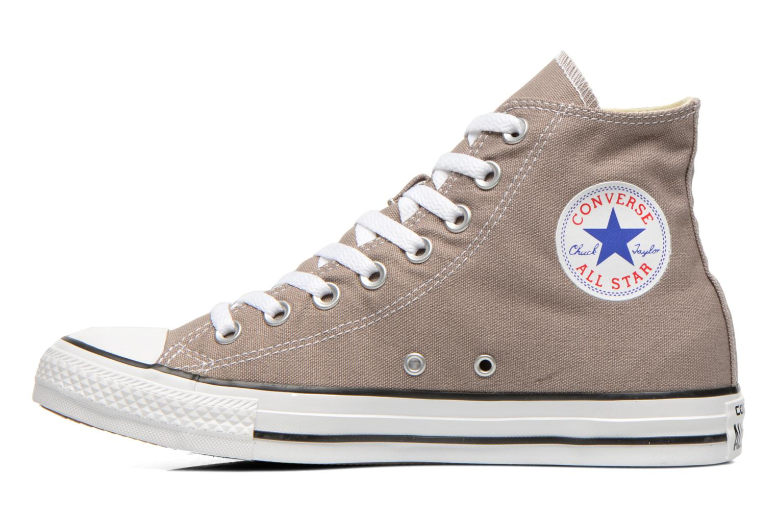 Baskets Converse Chuck Taylor All Star Hi M Gris vue face