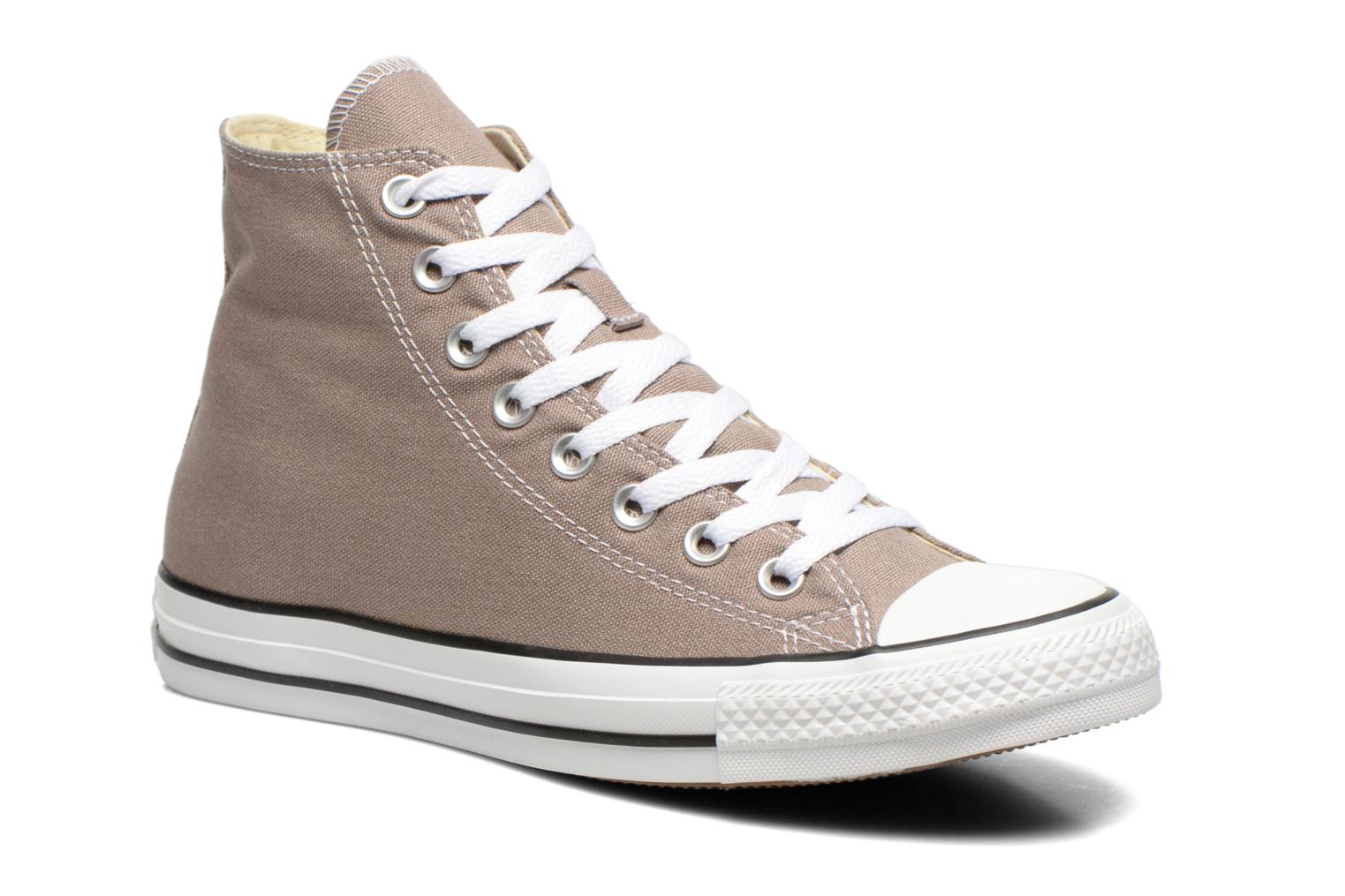 Baskets Converse Chuck Taylor All Star Hi M Gris vue détail/paire