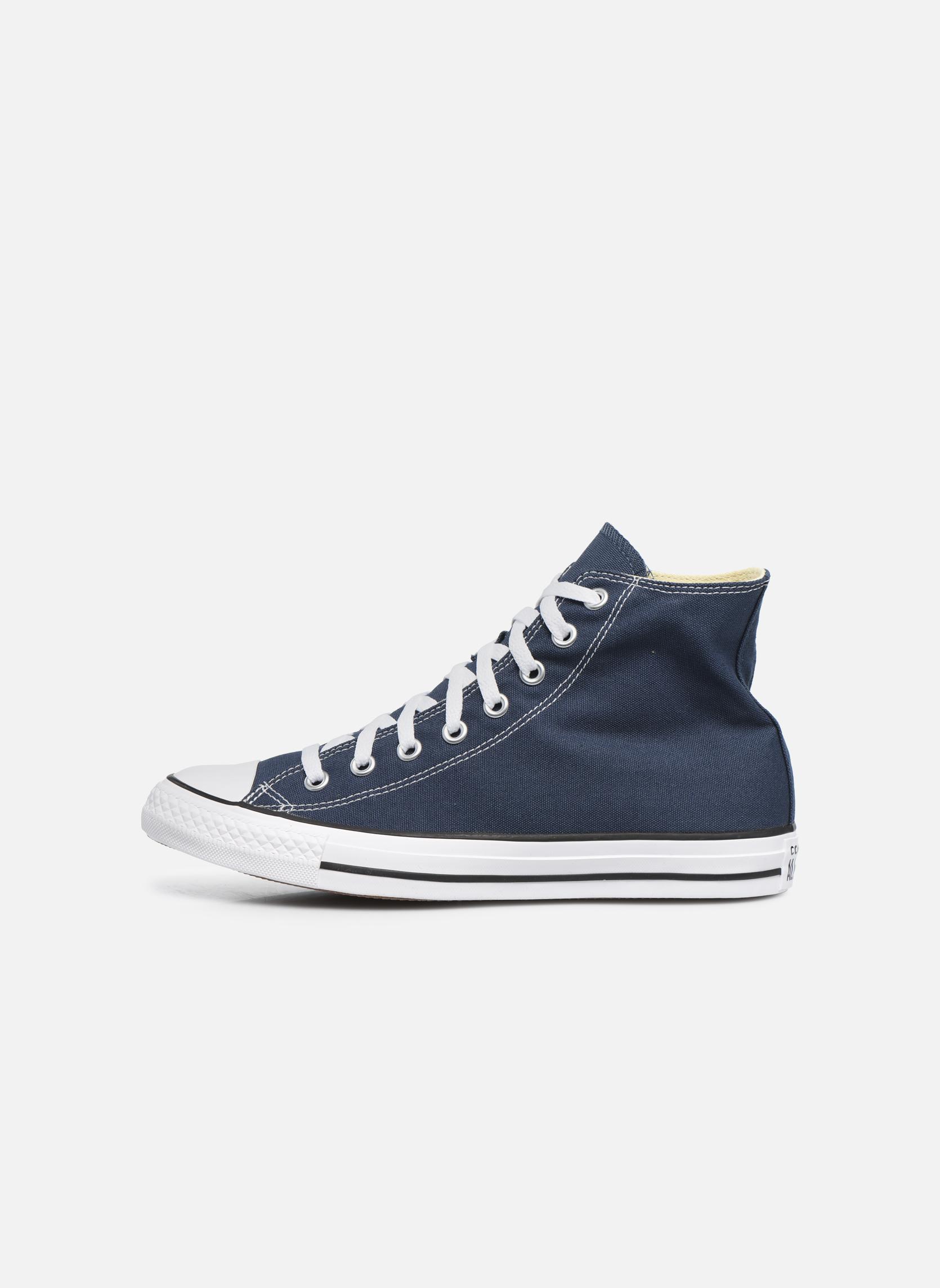 Sneaker Converse Chuck Taylor All Star Hi M blau ansicht von vorne