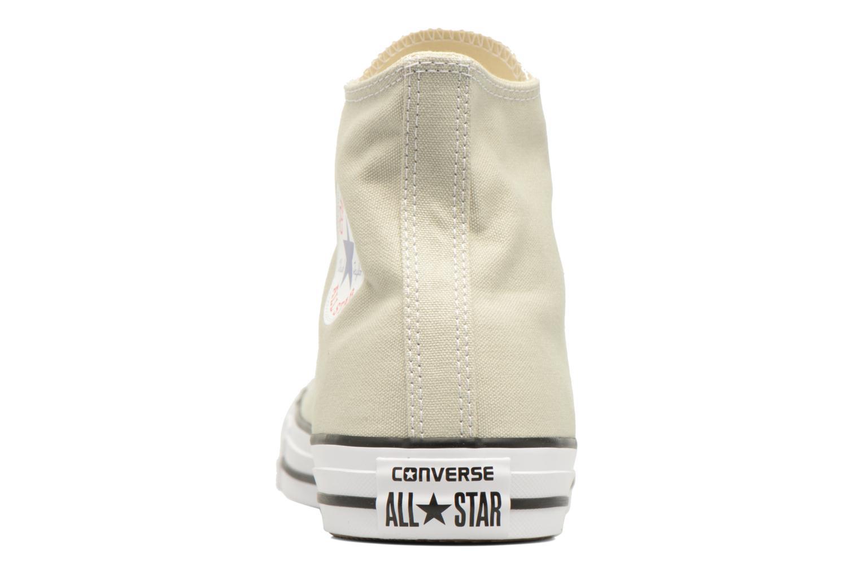 Baskets Converse Chuck Taylor All Star Hi M Beige vue droite