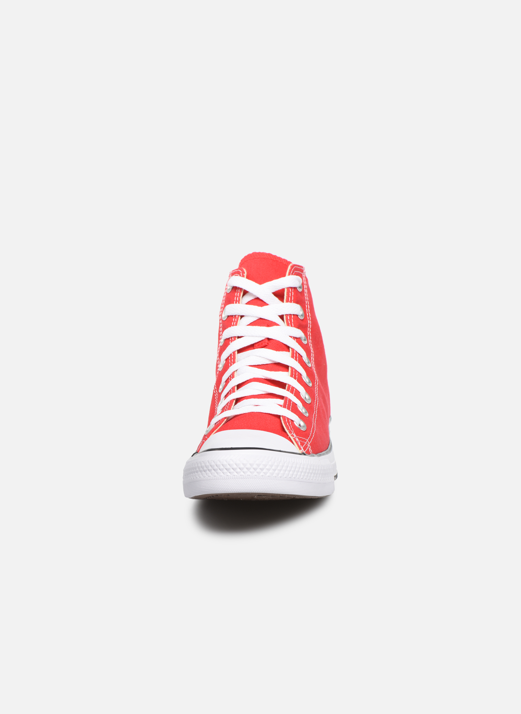 Sneakers Converse Chuck Taylor All Star Hi M Rosso modello indossato