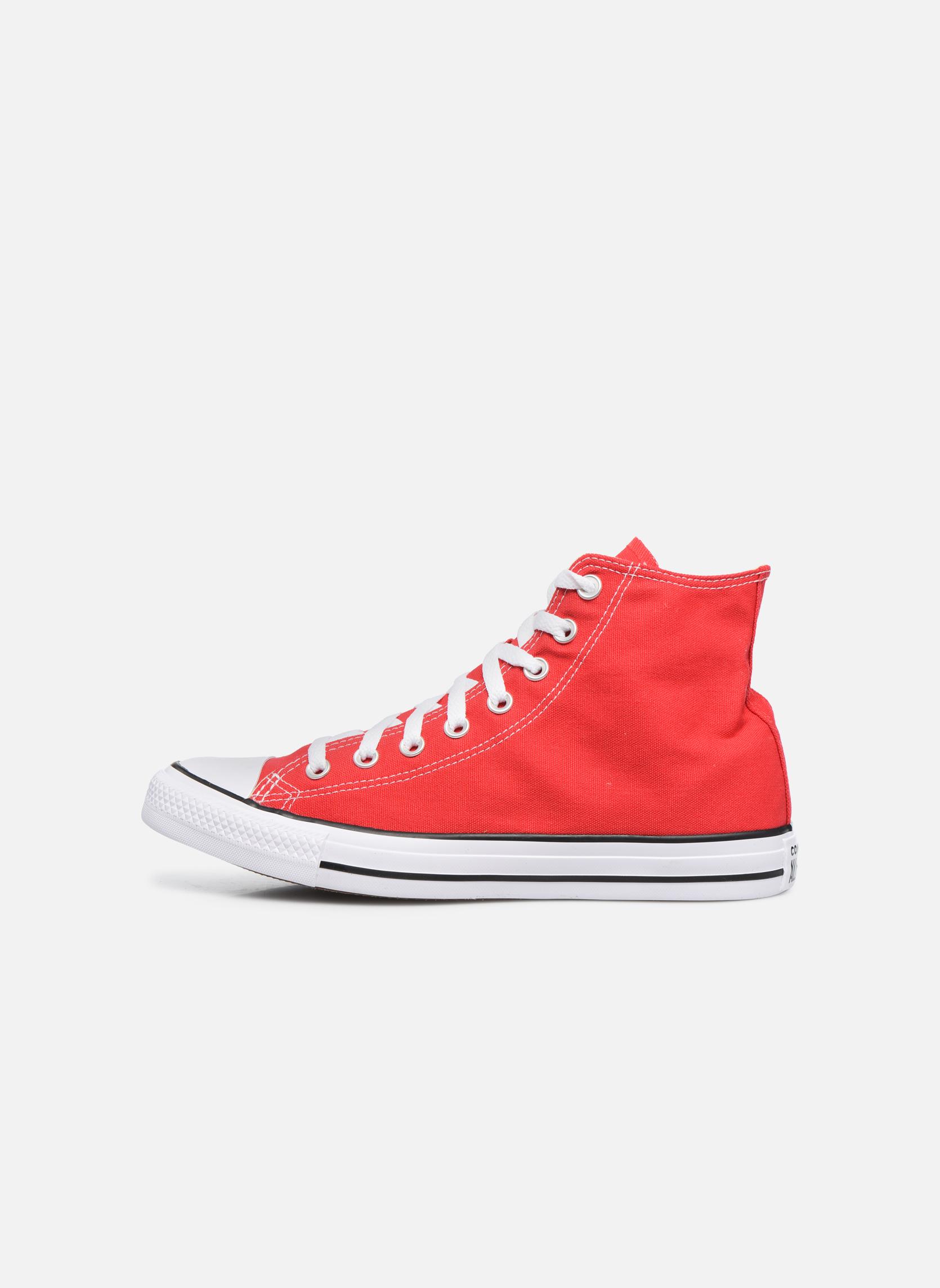 Sneaker Converse Chuck Taylor All Star Hi M rot ansicht von vorne
