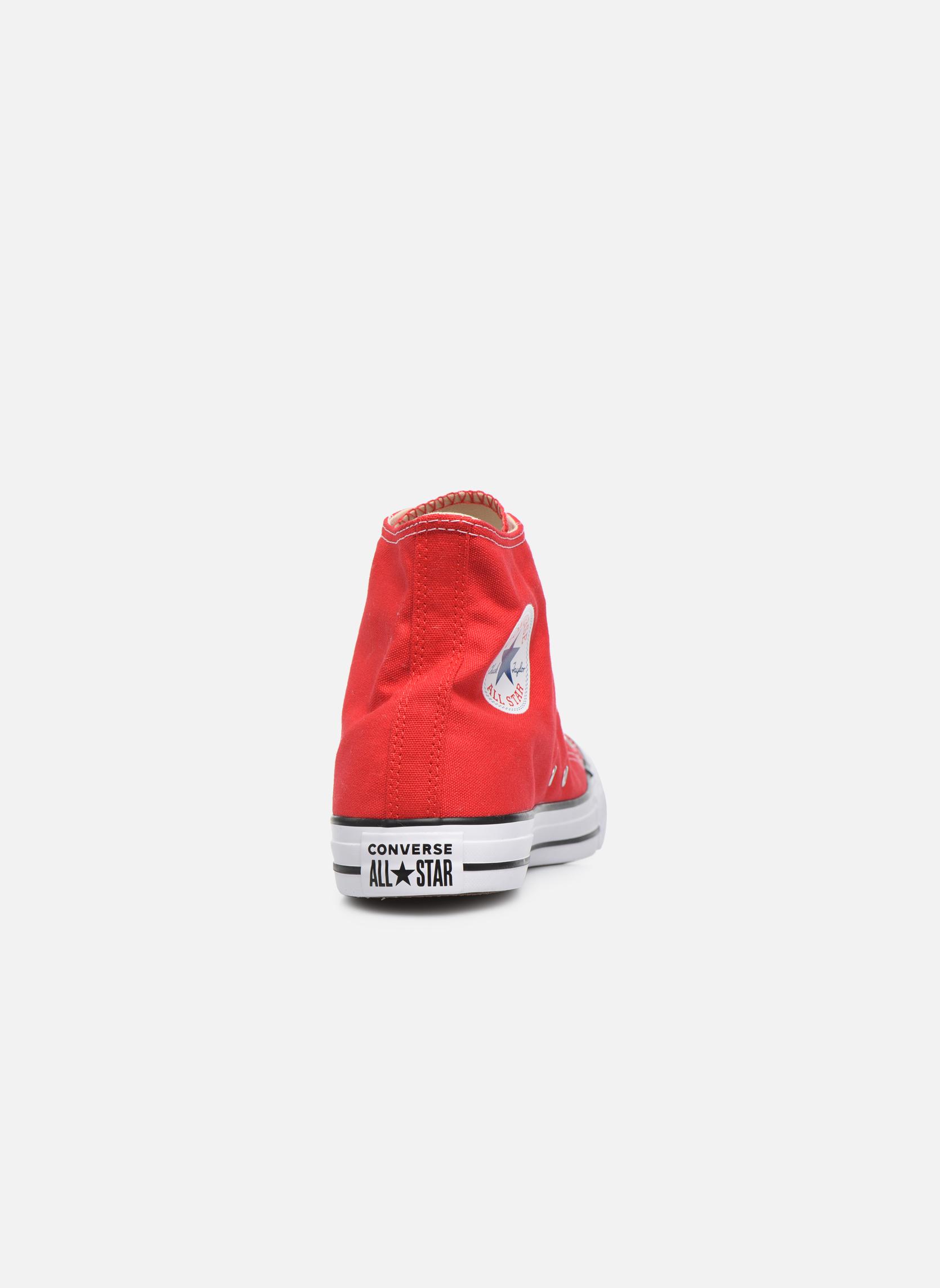 Sneaker Converse Chuck Taylor All Star Hi M rot ansicht von rechts