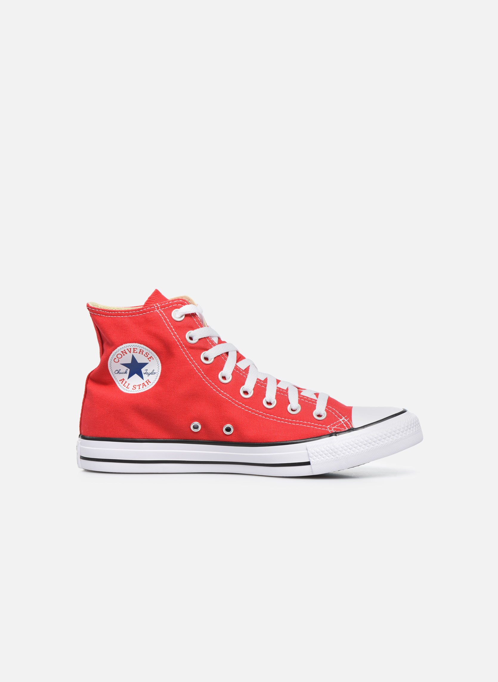 Sneakers Converse Chuck Taylor All Star Hi M Rood achterkant