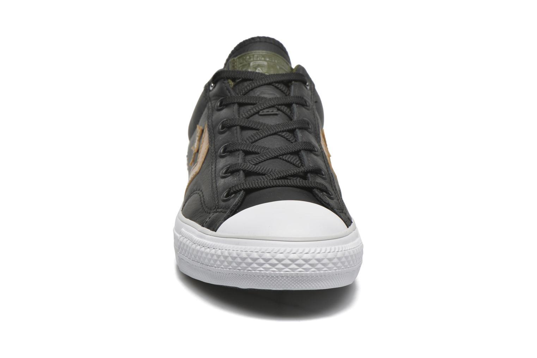 Sneaker Converse Star Player Cuir Ev M schwarz schuhe getragen