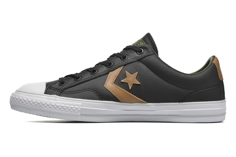 Sneaker Converse Star Player Cuir Ev M schwarz ansicht von vorne