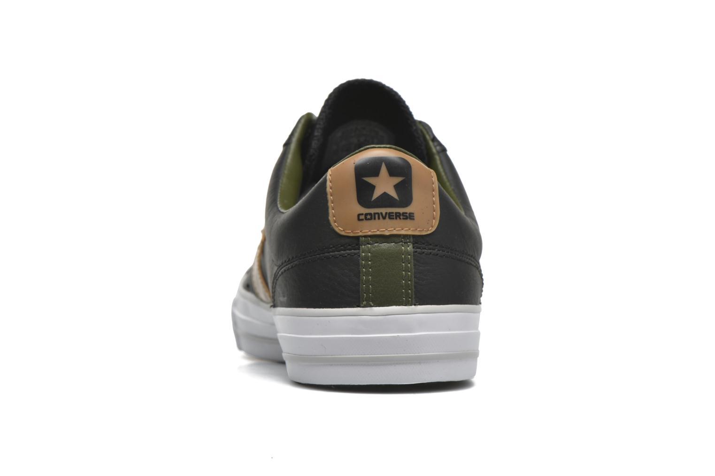 Sneakers Converse Star Player Cuir Ev M Zwart rechts
