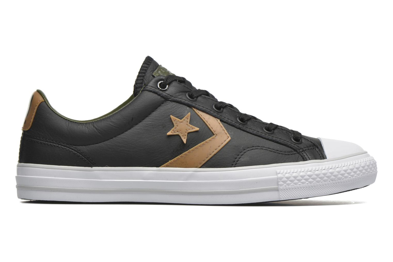 Sneaker Converse Star Player Cuir Ev M schwarz ansicht von hinten
