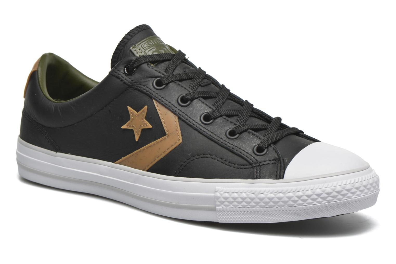 Sneakers Converse Star Player Cuir Ev M Zwart detail