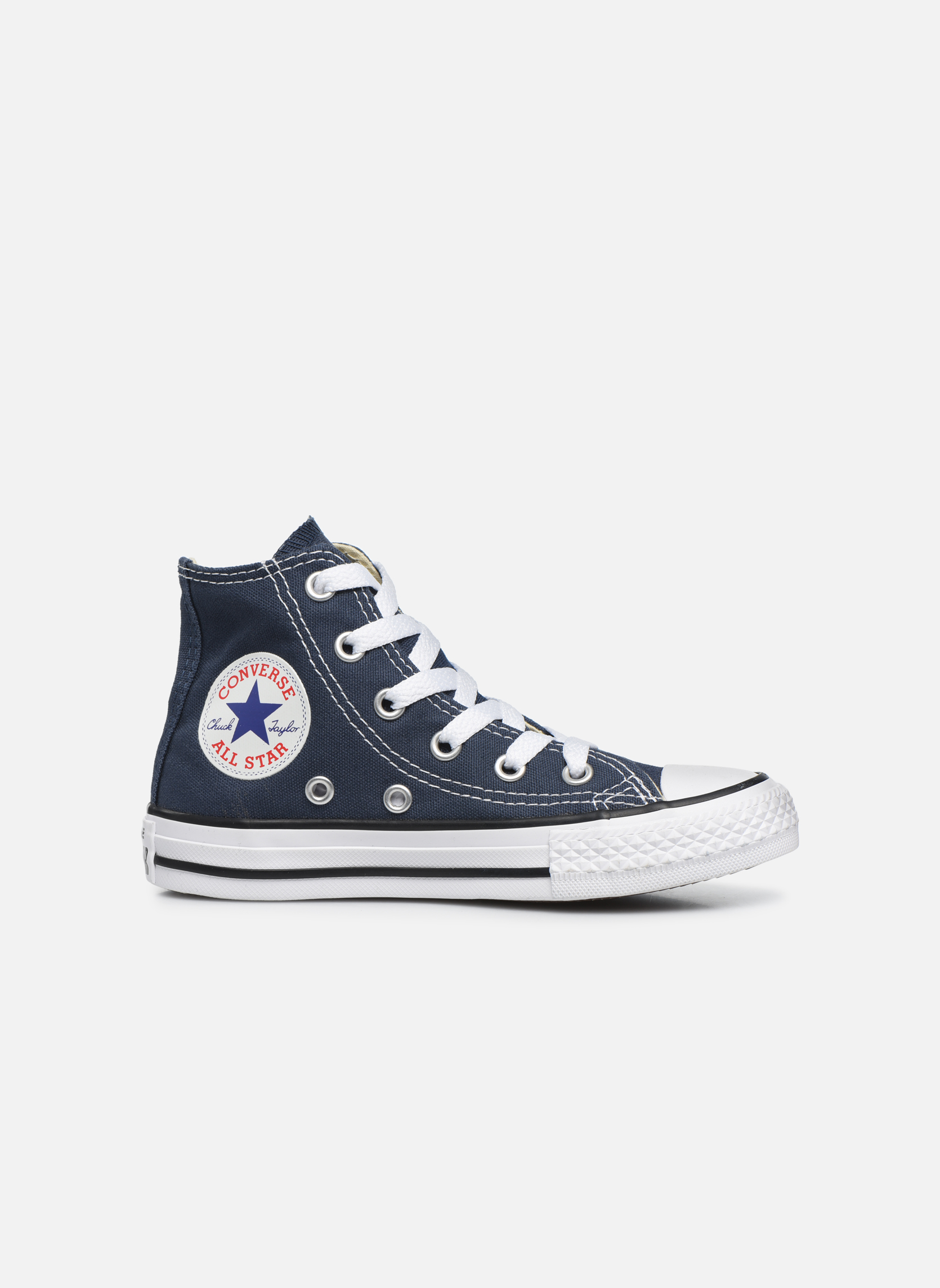 Sneakers Converse Chuck Taylor All Star Core Hi Blauw achterkant