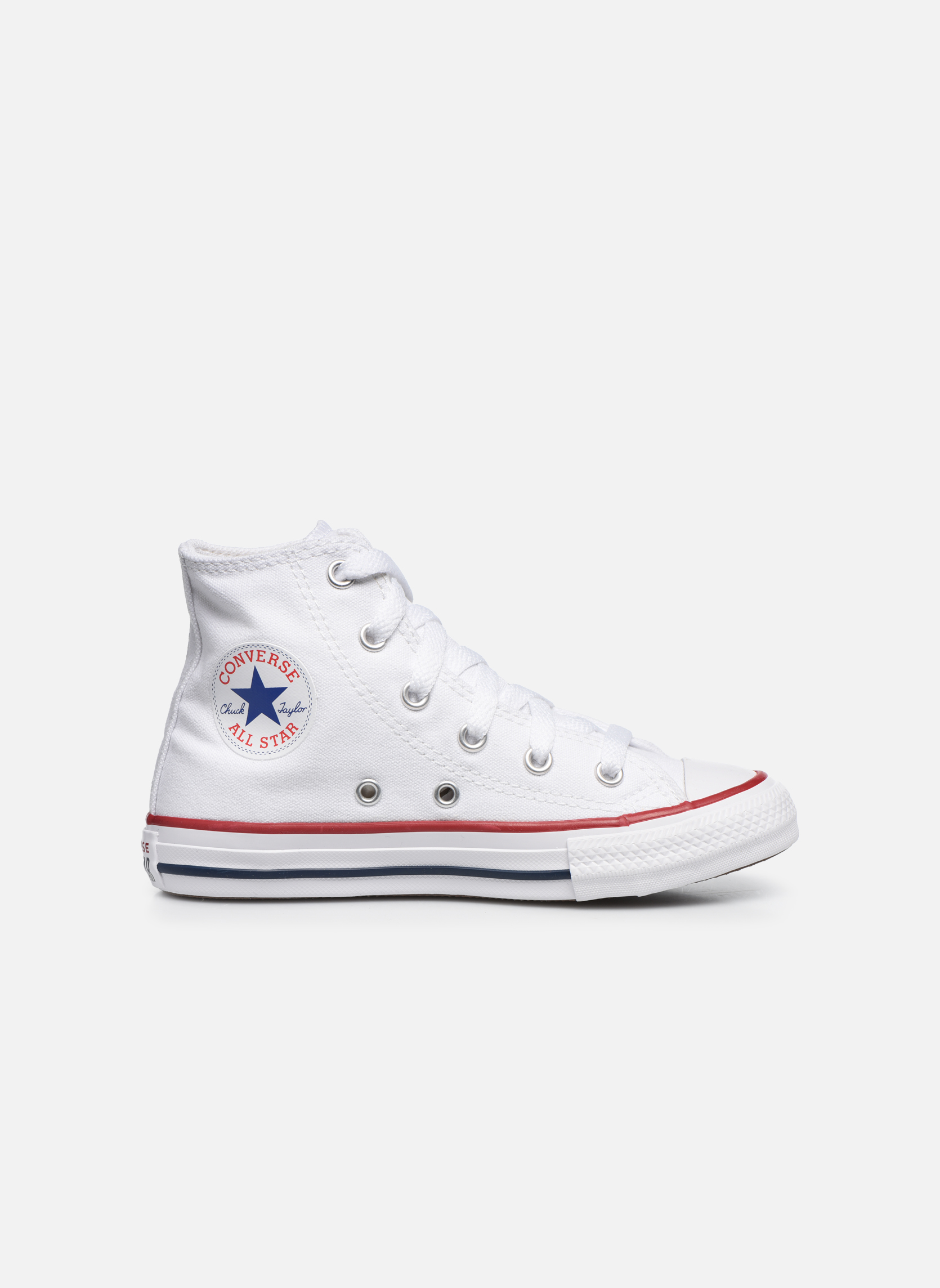 Sneakers Converse Chuck Taylor All Star Core Hi Bianco immagine posteriore