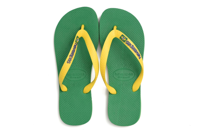 Slippers Havaianas Brazil Logo H Groen 3/4'