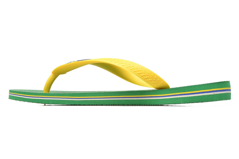 Slippers Havaianas Brazil Logo H Groen voorkant