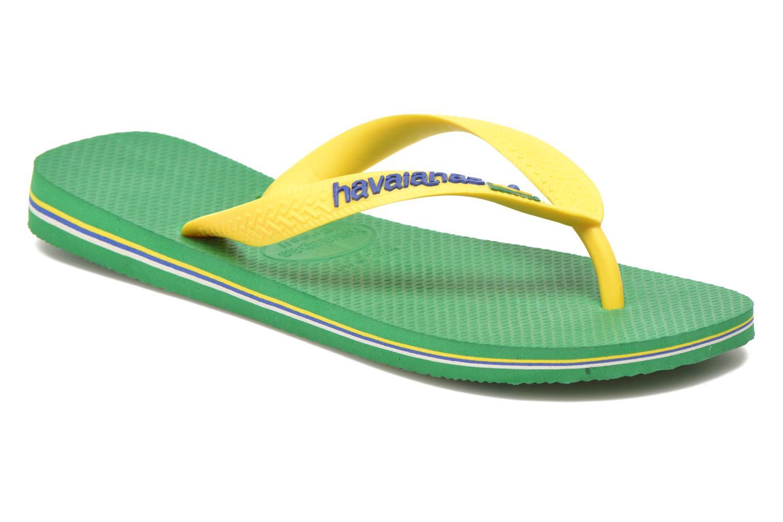 Tongs Havaianas Brazil Logo H Vert vue détail/paire