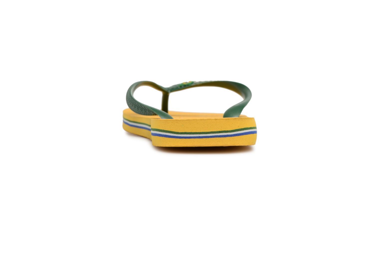 Flip flops & klipklapper Havaianas Brazil Logo H Gul Se fra højre