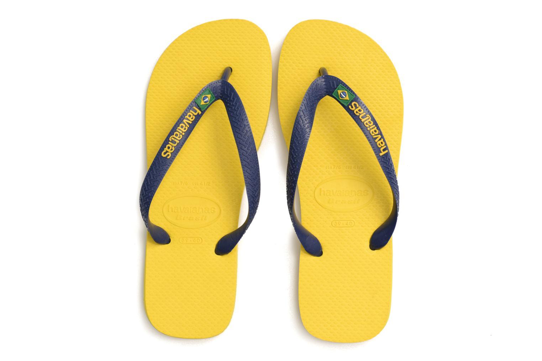 Slippers Havaianas Brazil Logo H Geel 3/4'