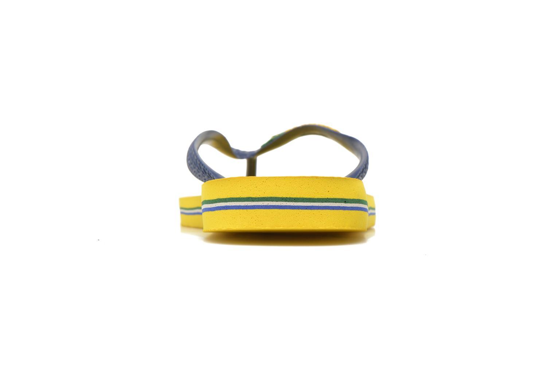 Slippers Havaianas Brazil Logo H Geel rechts