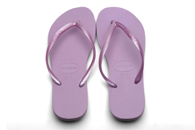 Flip flops Havaianas Kids Slim Lila bild av skorna på