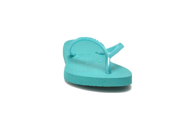 Tongs Havaianas Kids Slim Vert vue portées chaussures
