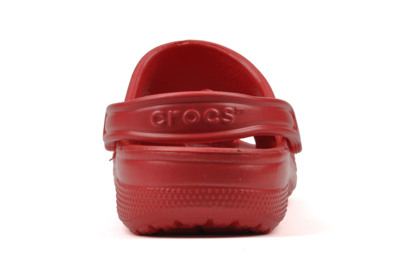 Sandales et nu-pieds Crocs Beach H Rouge vue droite