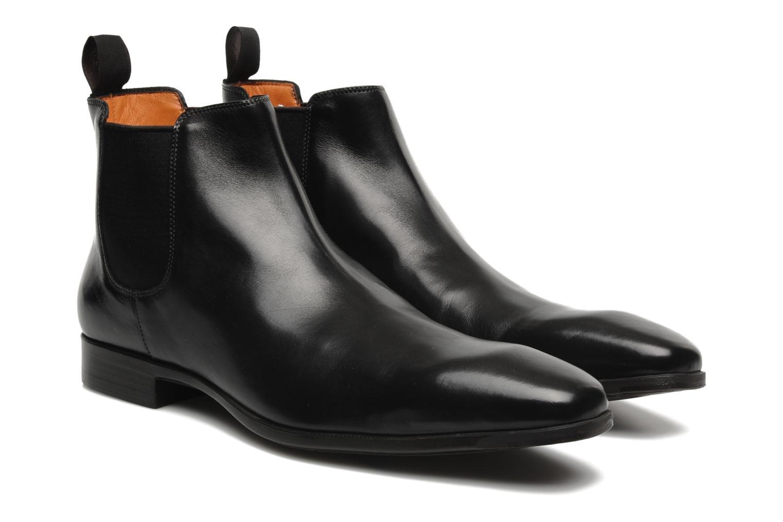 Bottines et boots Santoni Marlone 9291 Noir vue 3/4