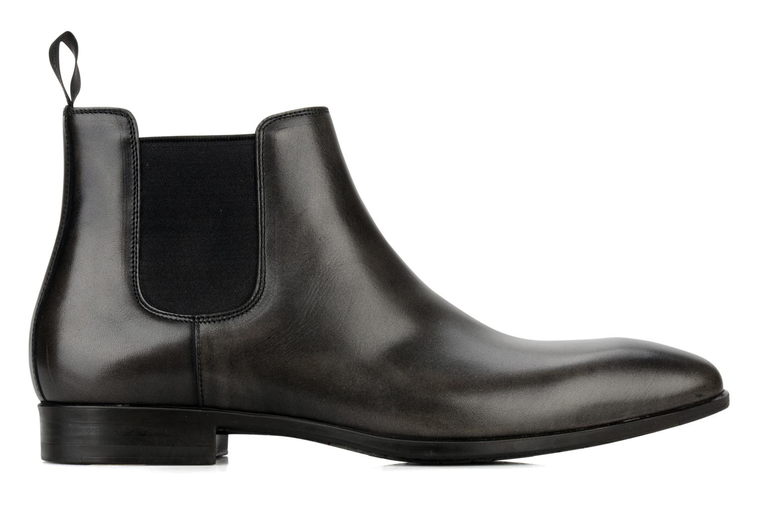 Ankle boots Santoni Marlone 9291 Grey back view