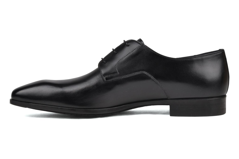Zapatos con cordones Santoni Marlone 9290 Negro vista de frente