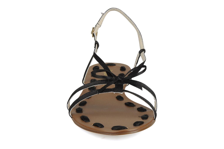Sandalen Chocolate Schubar Schu-Schu schwarz schuhe getragen