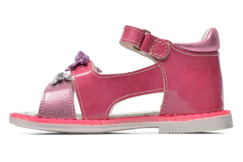 Sandales et nu-pieds Catimini Chenille Rose vue face