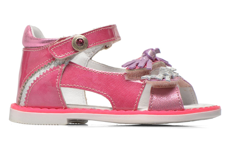 Sandales et nu-pieds Catimini Chenille Rose vue derrière