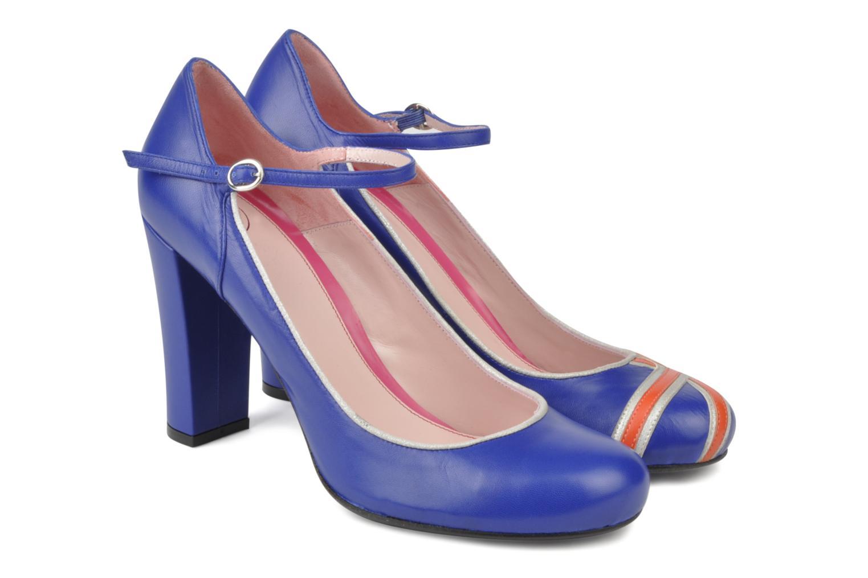 High heels Annabel Winship Expistol Blue detailed view/ Pair view