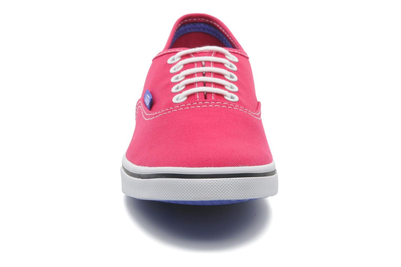 Baskets Vans Authentic Lo Pro W Rose vue portées chaussures