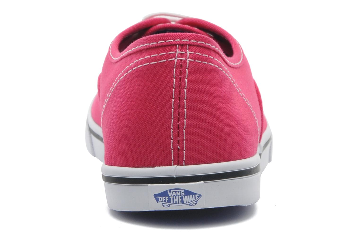 Trainers Vans Authentic Lo Pro W Pink view from the right