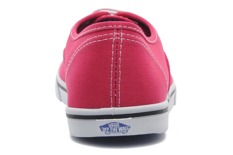 Sneaker Vans Authentic Lo Pro W rosa ansicht von rechts