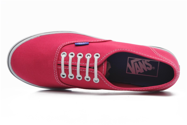 Sneaker Vans Authentic Lo Pro W rosa ansicht von links