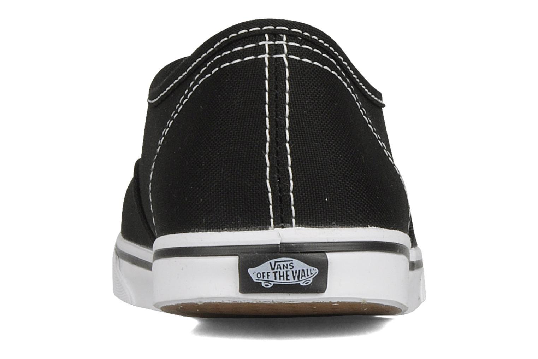 Sneaker Vans Authentic Lo Pro W schwarz ansicht von rechts