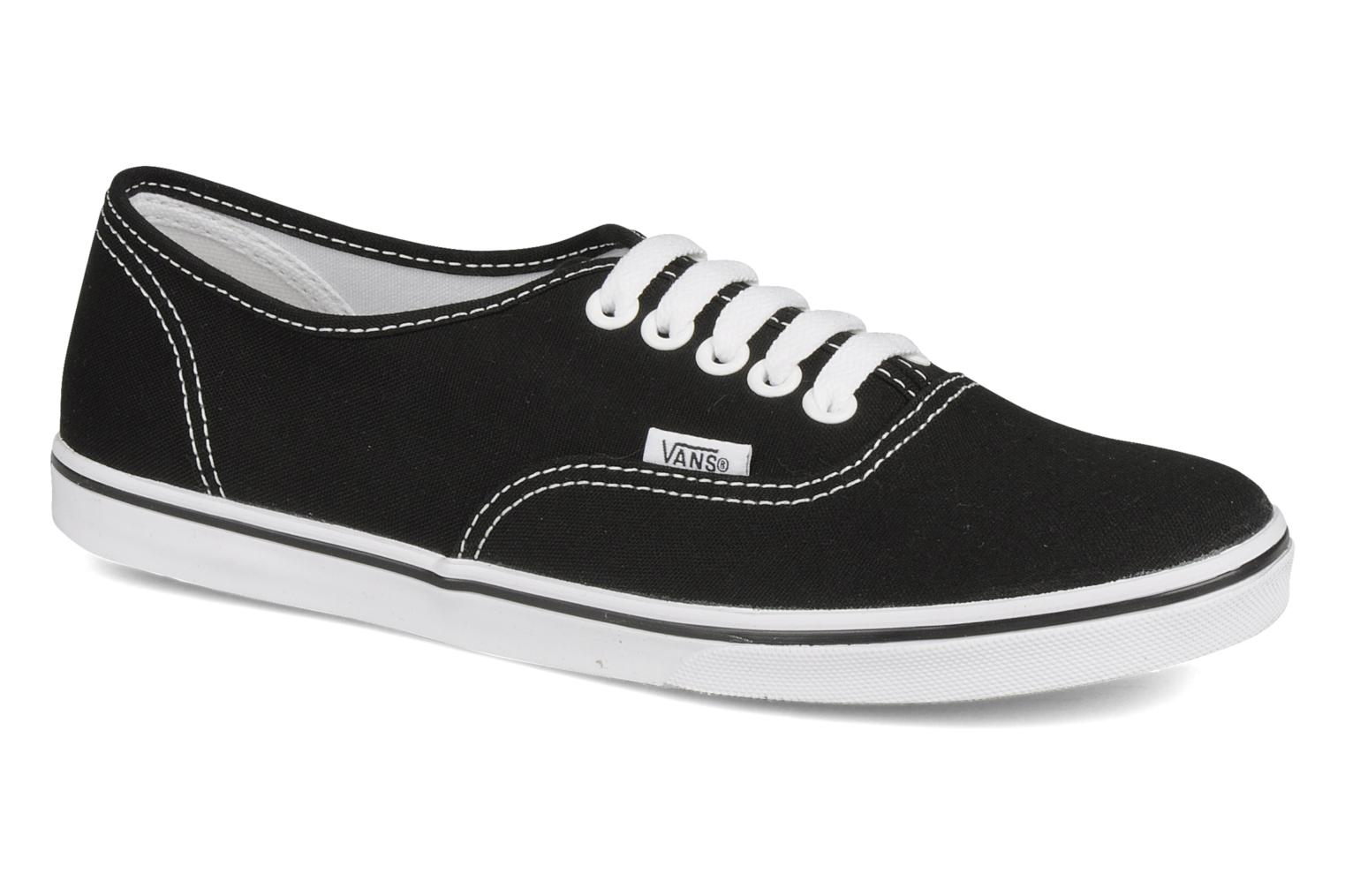 Trainers Vans Authentic Lo Pro W Black detailed view/ Pair view