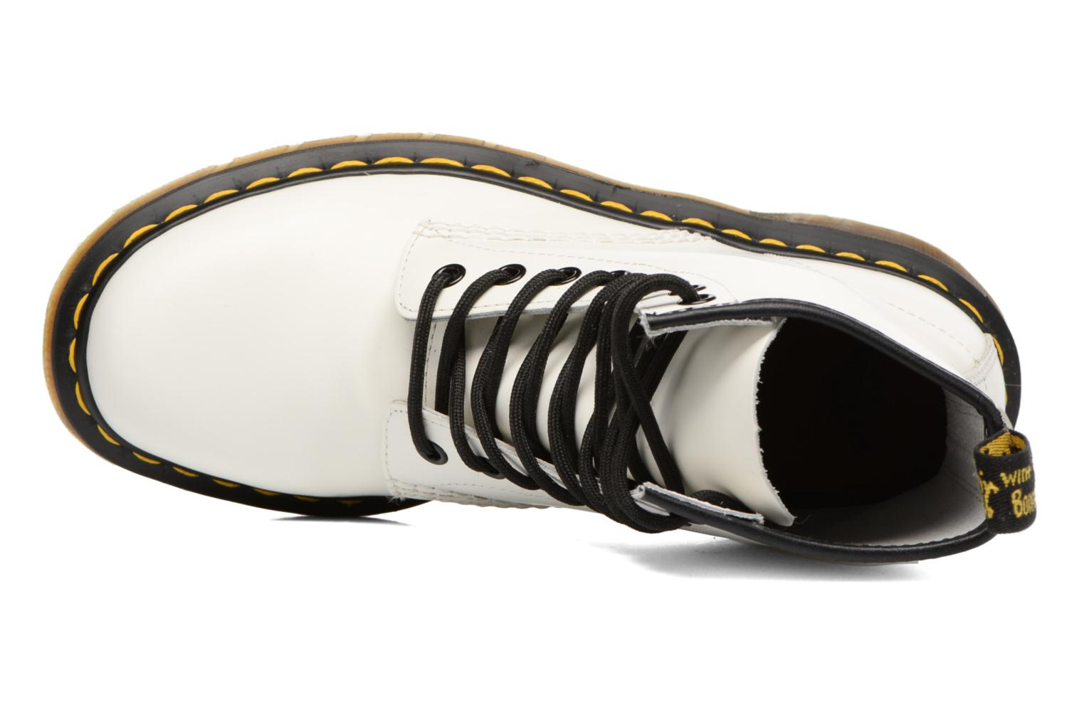 Ankle boots DR. Martens 1460 W White view from the left