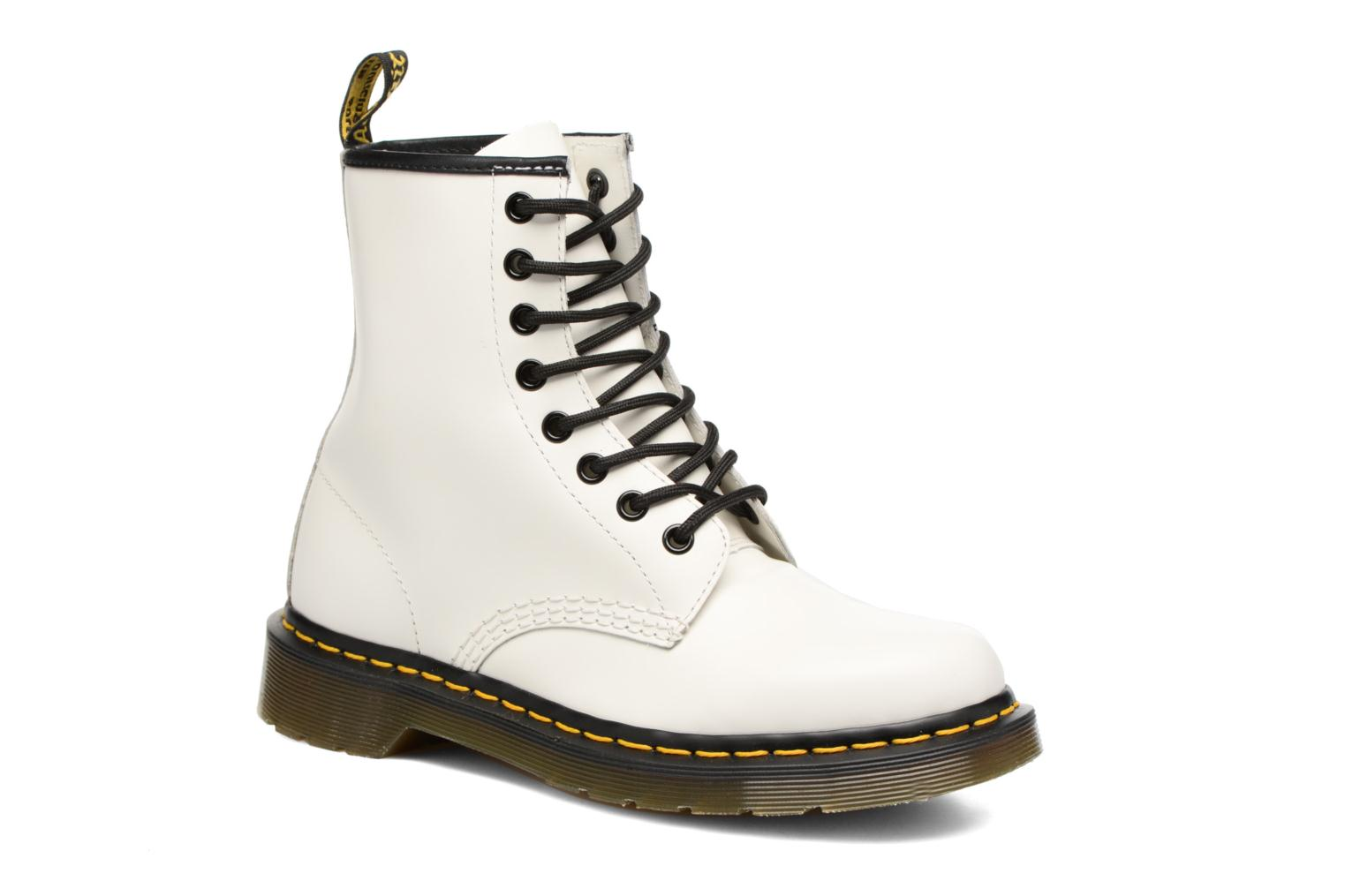 Ankle boots DR. Martens 1460 W White detailed view/ Pair view