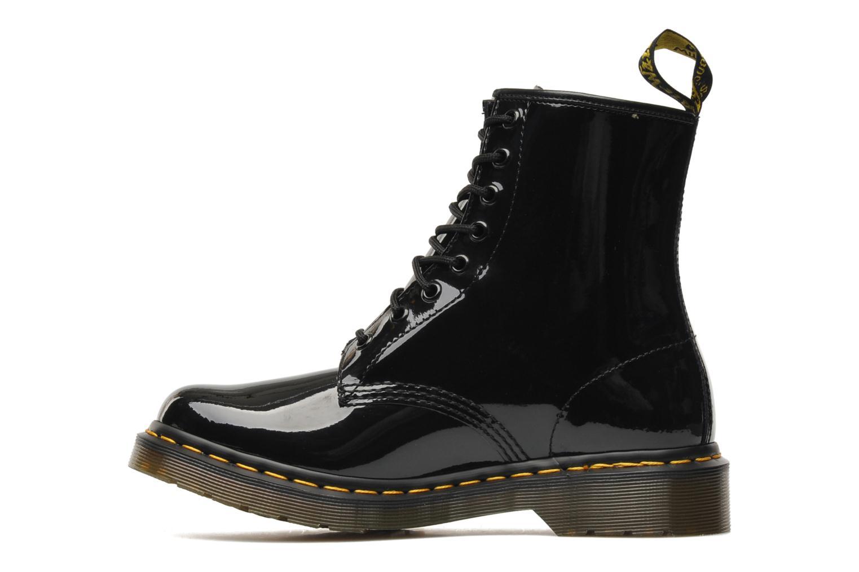 Bottines et boots Dr. Martens 1460 W Noir vue face
