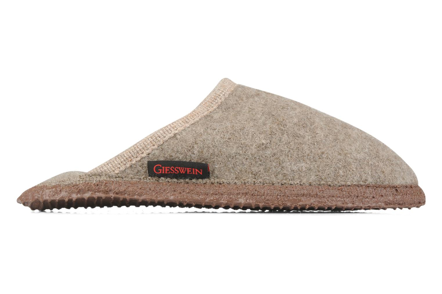 Slippers Giesswein Tino W Beige back view