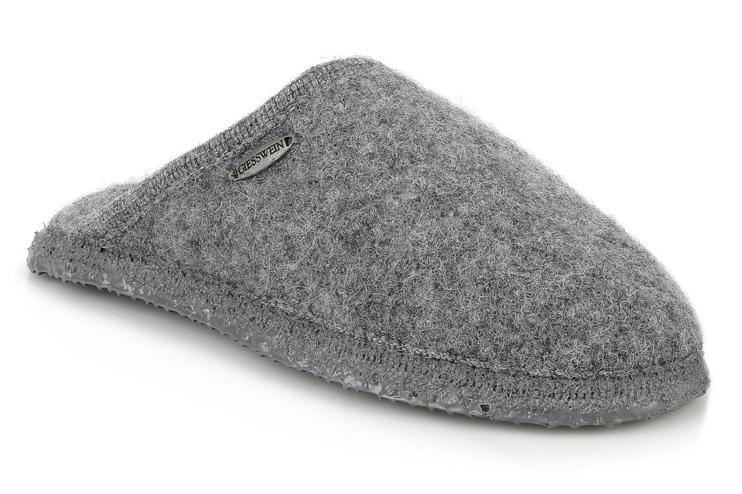 Chaussons Giesswein Tino W Gris vue détail/paire