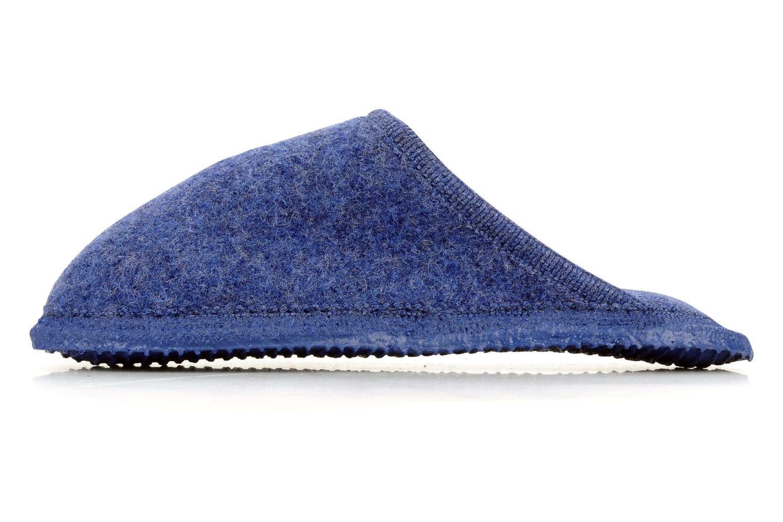 Hausschuhe Giesswein Tino W blau ansicht von vorne